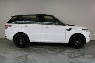 2015 Land Rover Range Rover Sport L494 15.5MY HSE Fuji Whitr 8 Speed Sports Automatic Wagon