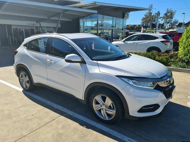 Demo Honda HR-V MY20 VTi-S Yamanto, 2020 Honda HR-V MY20 VTi-S White 1 Speed Constant Variable Hatchback