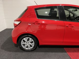 2017 Toyota Yaris NCP131R SX Red 4 Speed Automatic Hatchback