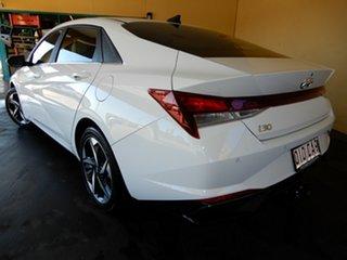 2020 Hyundai i30 CN7.V1 MY21 Elite White 6 Speed Auto Sequential Sedan.
