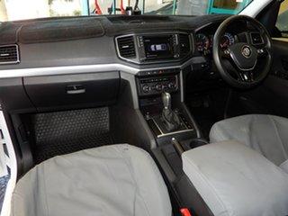 2017 Volkswagen Amarok 2H MY17 V6 TDI 550 Highline White 8 Speed Automatic Dual Cab Utility.