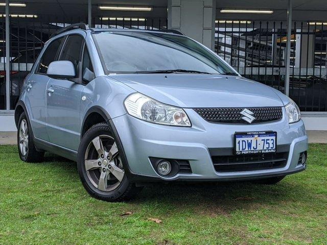 Used Suzuki SX4 GYA MY11 S Victoria Park, 2011 Suzuki SX4 GYA MY11 S Blue 6 Speed Constant Variable Hatchback