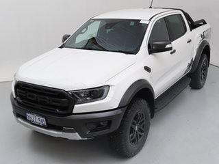 2020 Ford Ranger PX MkIII MY20.25 Raptor 2.0 (4x4) White 10 Speed Automatic Double Cab Pick Up