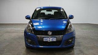 2015 Suzuki Swift FZ MY15 Sport Blue 6 Speed Manual Hatchback