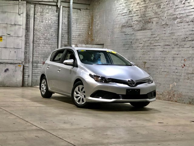 Used Toyota Corolla ZRE182R Ascent S-CVT Mile End South, 2016 Toyota Corolla ZRE182R Ascent S-CVT Silver 7 Speed Constant Variable Hatchback