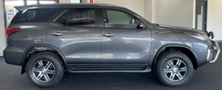2018 Toyota Fortuner GUN156R GXL Grey 6 Speed Automatic Wagon.