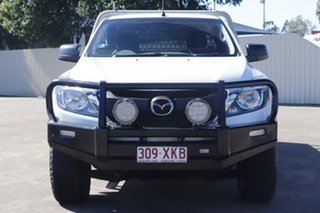 2017 Mazda BT-50 UR0YG1 XT Freestyle White 6 Speed Sports Automatic Cab Chassis