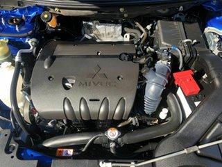 2015 Mitsubishi Lancer CF MY16 ES Sport Blue 5 Speed Manual Sedan