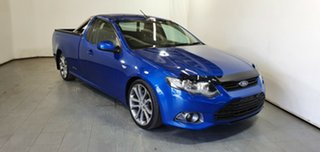 2012 Ford Falcon FG MkII XR6 Ute Super Cab Limited Edition Blue 6 Speed Sports Automatic Utility.