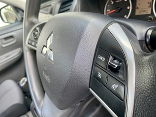 2016 Mitsubishi Triton MQ MY17 GLX 4x2 Silver 6 Speed Manual Cab Chassis