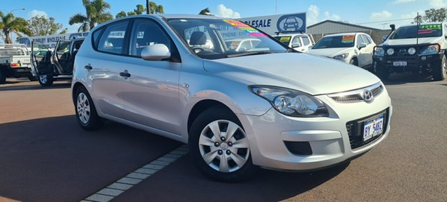 Used Hyundai i30 FD MY11 SX East Bunbury, 2012 Hyundai i30 FD MY11 SX Silver 5 Speed Manual Hatchback