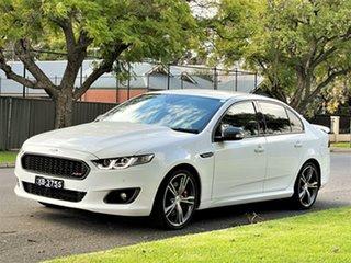 2015 Ford Falcon FG X XR8 White 6 Speed Sports Automatic Sedan.