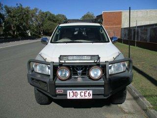 2005 Toyota Landcruiser Prado GRJ120R VX White 5 Speed Automatic Wagon.