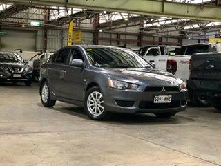 2010 Mitsubishi Lancer CJ MY10 ES Sportback Grey 6 Speed Constant Variable Hatchback.