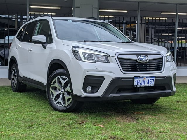 Used Subaru Forester S5 MY19 2.5i-L CVT AWD Victoria Park, 2019 Subaru Forester S5 MY19 2.5i-L CVT AWD White 7 Speed Constant Variable Wagon