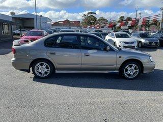 2001 Subaru Liberty B3 MY01 RX AWD Brown 4 Speed Automatic Sedan