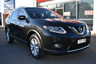 2016 Nissan X-Trail T32 ST-L X-tronic 2WD Black 7 Speed Constant Variable Wagon.