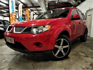 2006 Mitsubishi Outlander ZF MY07 LS Red 4 Speed Sports Automatic Wagon