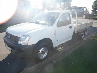 2005 Holden Rodeo RA DX White 5 Speed Manual Utility