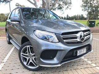 2017 Mercedes-Benz GLE-Class W166 807MY GLE350 d 9G-Tronic 4MATIC Grey 9 Speed Sports Automatic.