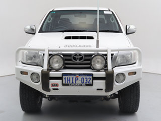2013 Toyota Hilux KUN26R MY12 SR5 (4x4) White 4 Speed Automatic Dual Cab Pick-up.