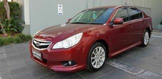 2012 Subaru Liberty MY12 2.5I Red Continuous Variable Sedan.