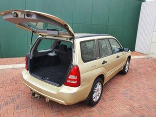 2003 Subaru Forester MY04 XT Gold 5 Speed Manual Wagon