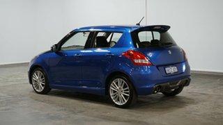 2015 Suzuki Swift FZ MY15 Sport Blue 6 Speed Manual Hatchback.