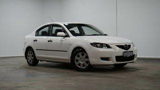 2008 Mazda 3 BK10F2 Neo White 4 Speed Sports Automatic Sedan.