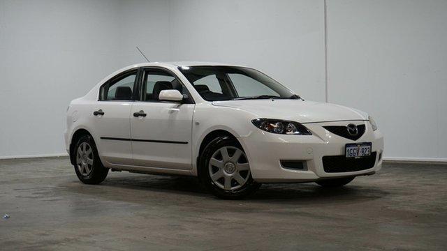 Used Mazda 3 BK10F2 Neo Welshpool, 2008 Mazda 3 BK10F2 Neo White 4 Speed Sports Automatic Sedan