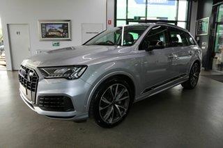 2021 Audi Q7 4M MY21 50 TDI Tiptronic Quattro Silver 8 Speed Sports Automatic Wagon