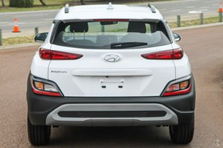 2021 Hyundai Kona Os.v4 MY21 2WD White 8 Speed Constant Variable Wagon.