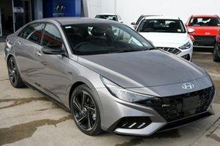 2021 Hyundai i30 CN7.V1 MY21 N Line D-CT Special Edition Fluid Metal 7 Speed.