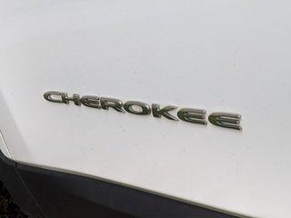 2014 Jeep Cherokee KL Longitude White 9 Speed Sports Automatic Wagon.