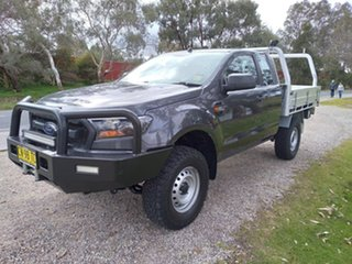 2018 Ford Ranger PX MkII 2018.00MY XL Grey 6 Speed Manual Cab Chassis.