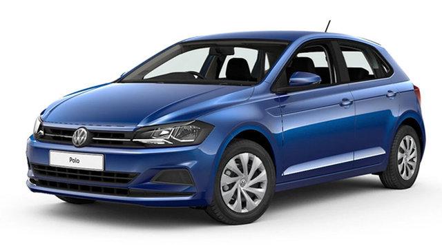 New Volkswagen Polo Trendline Hamilton, 2021 Volkswagen Polo Trendline Reef Blue Metallic 7 Speed Semi Auto Hatchback