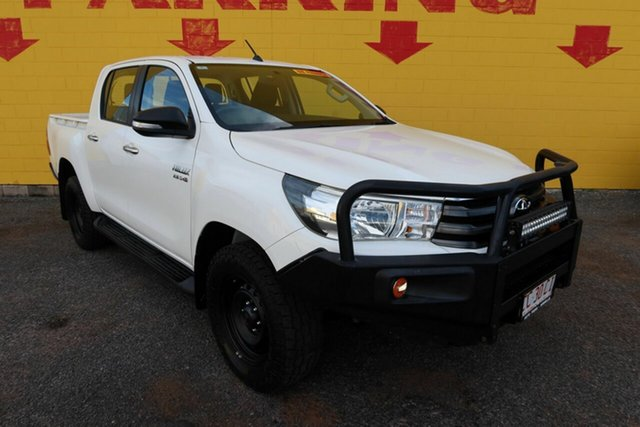 Used Toyota Hilux Winnellie, 2015 Toyota Hilux White 6 Speed Manual Dual Cab