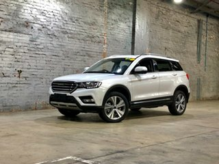 2020 Haval H6 Lux DCT White 6 Speed Sports Automatic Dual Clutch Wagon.