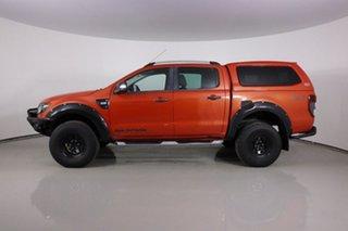 2014 Ford Ranger PX Wildtrak 3.2 (4x4) Orange 6 Speed Automatic Crew Cab Utility