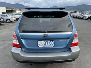 2007 Subaru Forester 79V MY07 X AWD Blue 4 Speed Automatic Wagon