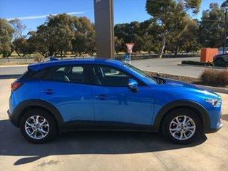 2017 Mazda CX-3 DK2W7A Maxx SKYACTIV-Drive Dynamic Blue 6 Speed Sports Automatic Wagon.