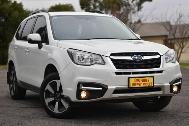 Used Subaru Forester S4 MY17 2.0D-L CVT AWD Enfield, 2017 Subaru Forester S4 MY17 2.0D-L CVT AWD White 7 Speed Constant Variable Wagon