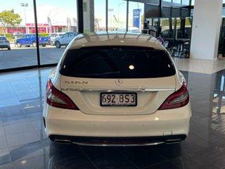 2015 Mercedes-Benz CLS-Class X218 806MY CLS250 d Shooting Brake 7G-Tronic + White 7 Speed