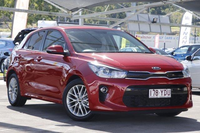 Used Kia Rio YB MY17 SLi Bundamba, 2017 Kia Rio YB MY17 SLi Red 4 Speed Sports Automatic Hatchback