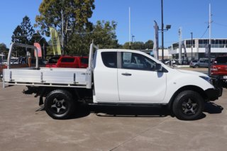 2017 Mazda BT-50 UR0YG1 XT Freestyle White 6 Speed Sports Automatic Cab Chassis.
