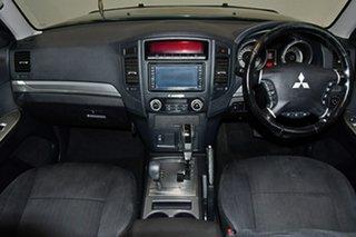 2012 Mitsubishi Pajero NW MY12 Activ Dark Blue 5 Speed Sports Automatic Wagon