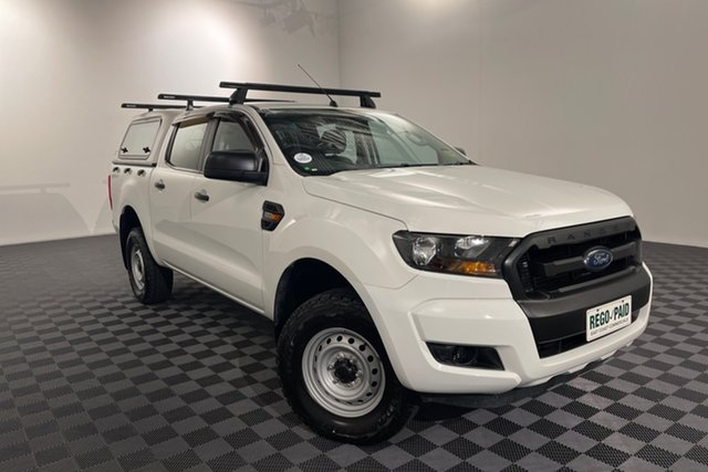 Used Ford Ranger PX MkII XL Hi-Rider Acacia Ridge, 2015 Ford Ranger PX MkII XL Hi-Rider White 6 speed Automatic Utility