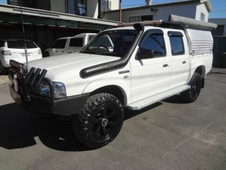 2003 Ford Courier PG GL (4x4) White 5 Speed Manual Crew Cab Pickup