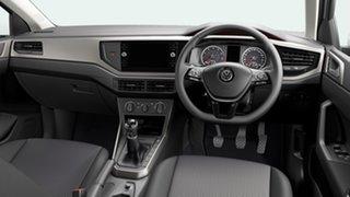 2021 Volkswagen Polo Comfortline Pure White 7 Speed Semi Auto Hatchback
