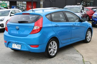 2019 Hyundai Accent RB6 MY19 Sport Blue 6 Speed Sports Automatic Hatchback